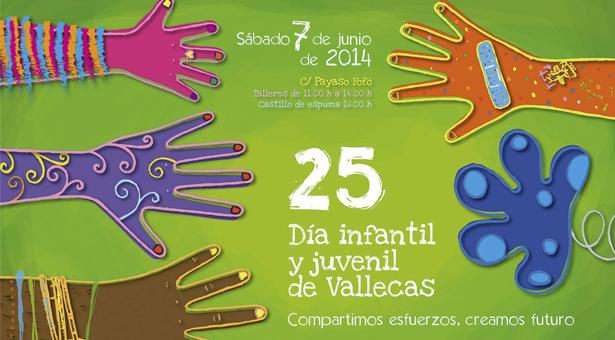 7 de Junio - XXV Día Infantil y Juvenil de Vallecas