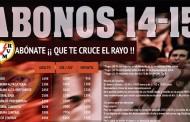 Abonos de la temporada 2014-15 del Rayo Vallecano