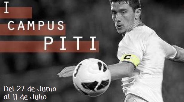 I Campus 'Piti' de Fútbol para niños