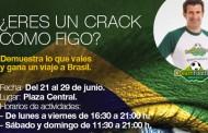 Luís Figo y la Gavia te acercan al sueño de ser una estrella del fútbol mundial