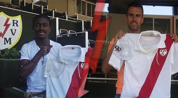 Derek Boateng y Antonio Amaya nuevos jugadores del Rayo Vallecano