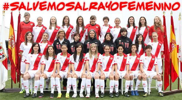 El Rayo Vallecano podría quedarse sin equipo femenino tras supresión del presupuesto por parte de la directiva