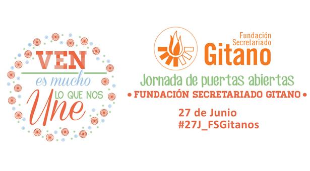 Jornada de puertas abiertas de la Fundación Secretariado Gitano en Vallecas