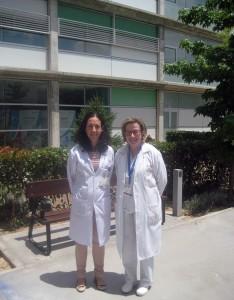 Natalia Blanca-López y Gabriela Canto, primera firmante y coordinadora del trabajo