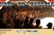 El grupo circense Carampa acerca su arte a Vallecas