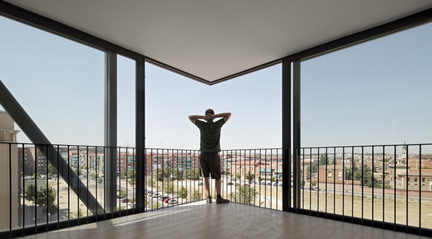 Vistas desde uno de sus inmuebles (Fotografía: Pedro Pegenaute )