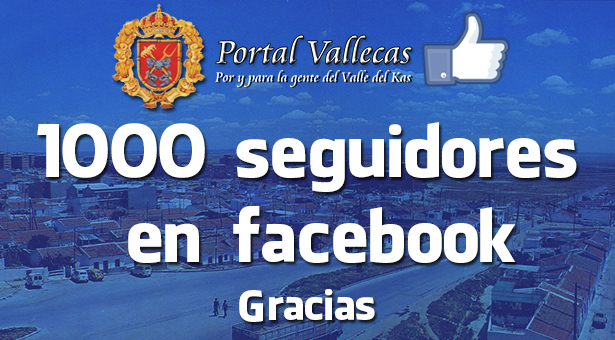 Superamos los 1000 Seguidores en nuestra FanPage de facebook