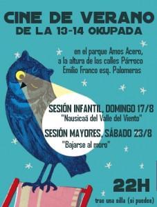 Cine de Verano - Vallecas -La13-14 - Agosto01