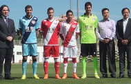 Presentación oficial de la nueva equipación y patrocinador del Rayo Vallecano para la temporada 2014-15 de la Liga BBVA