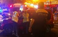 Accidente de tráfico en la Albufera, colisión entre una moto y un turismo