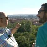 """Jose Antonio que regenta la gran terraza de """"El mirador"""""""