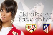 Cristina Pedroche hará el saque de honor en el primer partido del Rayo de esta temporada