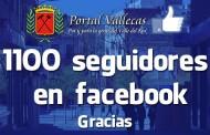 Superamos los 1100 Seguidores en nuestra FanPage de facebook