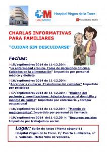 """Calendario de """"Cuidar sin descuidarse"""" Septiembre 2014"""