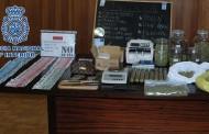 Desmantelan un local que distribuía cannabis entre jóvenes en Villa de Vallecas