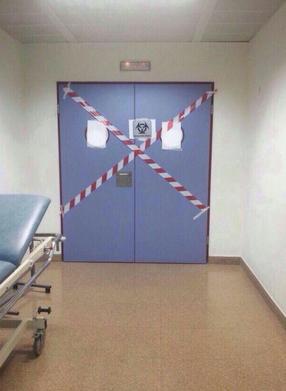 Fotos del interior del hospital de Alcorcón