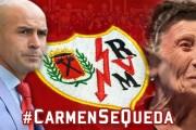 El Rayo Vallecano pagará un alquiler a Carmen la vecina del barrio de 85 años desahuciada ayer