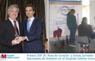 Premio TOP 20 'Área de Corazón' y Sextas Jornadas Nacionales de Diabetes en el Hospital Infanta Leonor