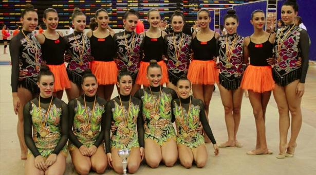 Las gimnastas del C.E.P.G Rítmica Vallecas revalidan el título del IV Trofeo de Gimnasia Rítmica Maite Nadal