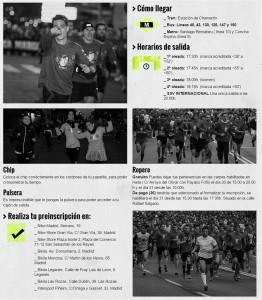 Información general de la XXXVII San Silvestre Vallecana