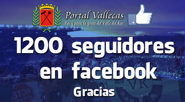 Superamos los 1200 Seguidores en nuestra FanPage de facebook
