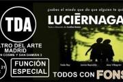 Función 'Luciérnagas' en el Teatro del Arte de Madrid – #TodosconFonsi