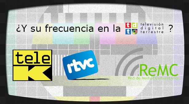 Tele K, Televisió Cardeu y Red de Medios Comunitarios exigen al Estado su frecuencia en la TDT