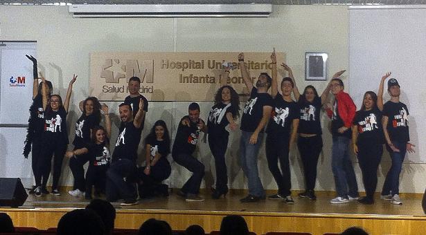Actividades para amenizar la estancia hospitalaria de pacientes en el Infanta Leonor