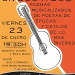 """Concierto con """"Cancionemas"""" Poemas musicalizados"""