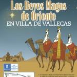 Cartel de la Cabalgata en Villa de Vallecas