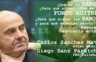 Charla sobre la SAREB bancaria en el C.S. La Villana de Vallekas