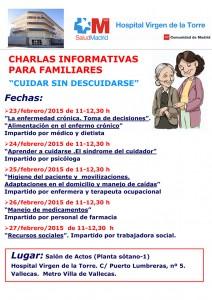 """Calendario de """"Cuidar sin descuidarse"""" Febrero 2015"""