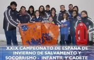 El club Vallecas S.O.S. asiste al Campeonato de España de Salvamento y Socorrismo infantil y cadete