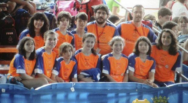 Equipo cadete e infantil del Vallecas SOS