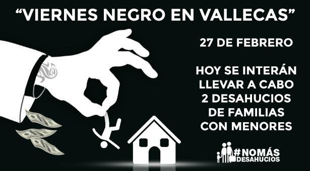 Viernes 27 Febrero - Stop Desahucios en Vallecas