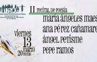 II Recital de poesía en la A.A.V.V. Pau del Ensanche de Vallecas