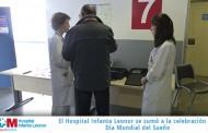 El Hospital Universitario Infanta Leonor imparte unas charlas-taller en celebración del Día Mundial del Sueño