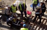 Un operario grave tras sufrir un accidente en una obra del Ensanche