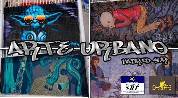 Mañana de Arte Urbano en el Pozo