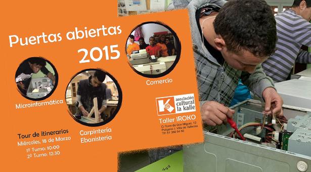 Jornada de puertas abiertas 2015 - Asociación Cultural La Kalle