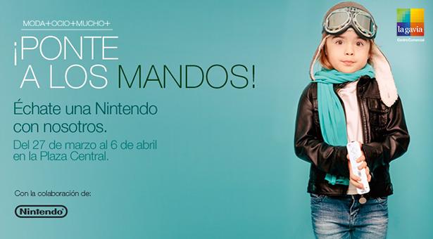 ¡Ponte a los mandos! de Nintendo en el C.C. La Gavia esta Semana Santa