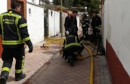 Un hombre intoxicado grave en el incendio de una casa baja en Entrevías