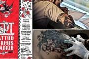Tattoo Circus Madrid en la 13-14 de Vallecas - 24, 25 y 26 de Abril