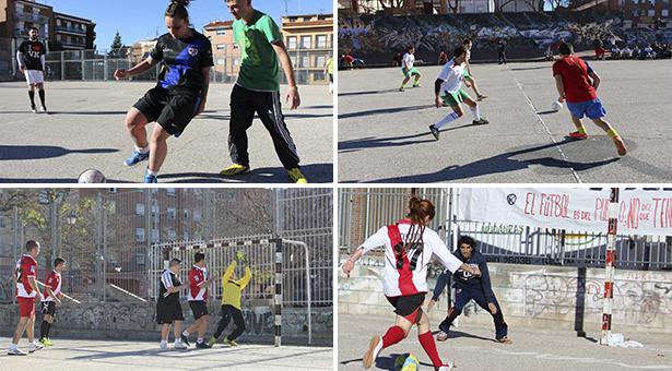Fotos de la Liga de Fútbol Popular de Vallekas