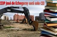 El CEIP José de Echegaray del Pau pasará a ser solo CEI