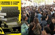 Manifestación ante la represión - 232º centigrados en Vallekas
