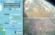 Estudiantes, padres y profesores del Colegio Tajamar lanzan un globo a la estratosfera