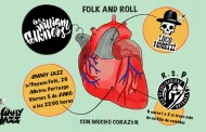 Folk & Roll en el Jimmy Jazz - Williams Folkners y Loco Moretti tocan para colaborar con la Despensa Solidaria de RSP