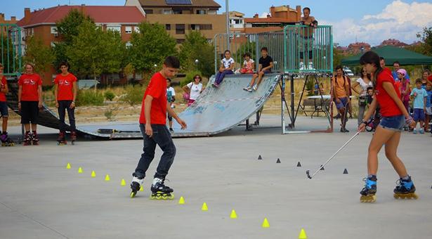 Exhibición de patinaje de SPV Patinaje
