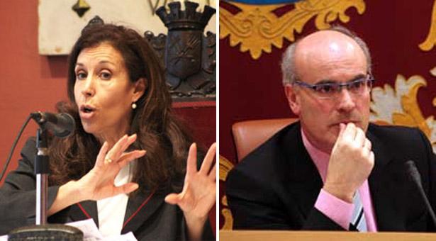 Eva Durán y Manuel Troitiño ex-presidentes de ambos distritos